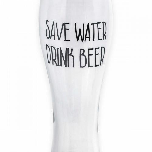 Bicchiere Da Birra Se Son Rose Fioriranno Se Son Birre Finiranno Clafglass It
