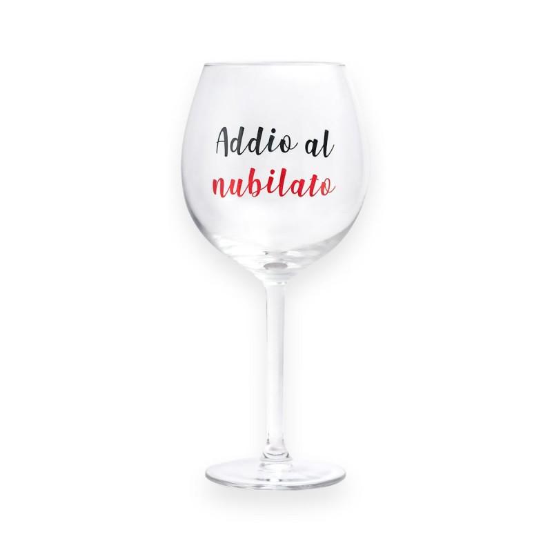 Calice da vino ADDIO AL NUBILATO